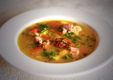 Суп гороховый двойной (пошаговый фото рецепт)