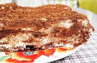 Хрустящий торт (пошаговый фото рецепт)