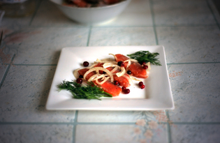 Сагудай из лосося по-сибирски (пошаговый фото рецепт)