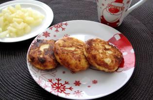 Сырники с ананасом (пошаговый фото рецепт)