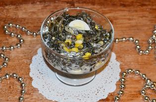 Вкусный салат из морской капусты (пошаговый фото рецепт)