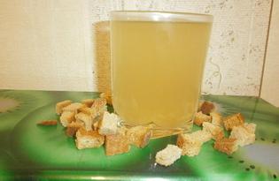 Домашний квас из сухариков (пошаговый фото рецепт)