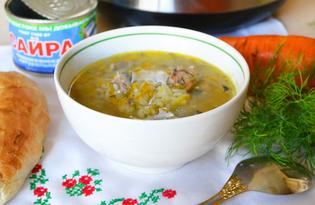 Сайровый суп в мультиварке (пошаговый фото рецепт)