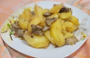Картофель с грибами и луком (пошаговый фото рецепт)