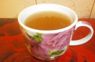 Зеленый чай с тертым имбирем, лимоном и медом (пошаговый фото рецепт)