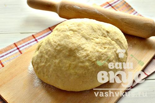 Дрожжевое тесто с майонезом рецепт с фото