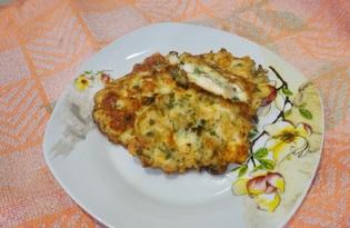 Куриные отбивные с грибами и сыром (пошаговый фото рецепт)