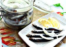 Хамса соленая (пошаговый фото рецепт)