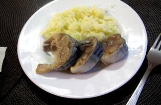 Маринованная скумбрия с уксусом (пошаговый фото рецепт)