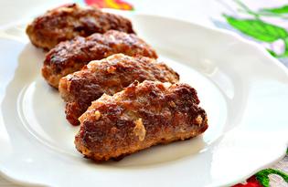 Колбаски из мясного фарша (пошаговый фото рецепт)