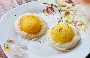 Яйцо в слоеном тесте (пошаговый фото рецепт)