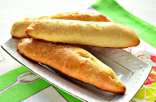 Сосиски в дрожжевом тесте в духовке (пошаговый фото рецепт)