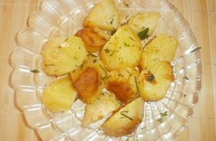 Вареный картофель по-деревенски (пошаговый фото рецепт)