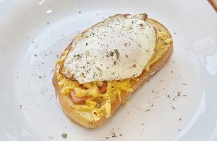 Сэндвич с яйцом (пошаговый фото рецепт)