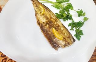 Скумбрия маринованная в соевом соусе и лимоне в духовке (пошаговый фото рецепт)