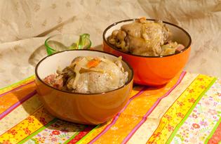 Бигос с курицей и ветчиной (пошаговый фото рецепт)