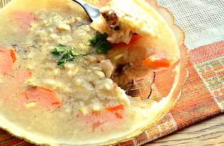 Холодец из свиных ножек с морковью и зеленью (пошаговый фото рецепт)