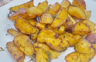 Картофель в соевом соусе (пошаговый фото рецепт)