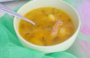 Суп с кроликом в мультиварке (пошаговый фото рецепт)