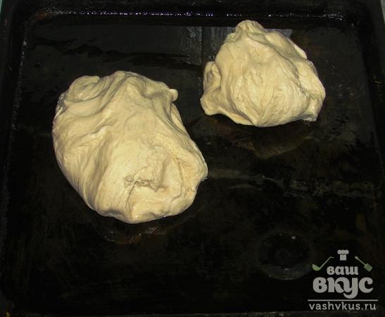 Дрожжевой пирог с тилапией