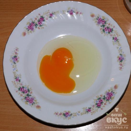 Свиная отбивная в яйце