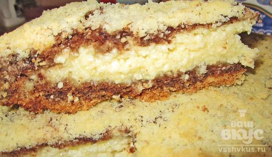 Творожный пирог «Детский»
