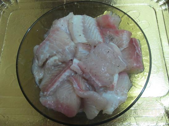 Рыба, жаренная в кляре