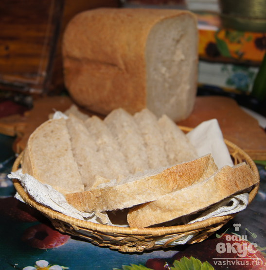 Хлеб пшенично-ржаной на сыворотке