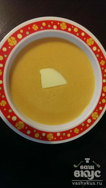 Тыквенно-морковный суп-пюре