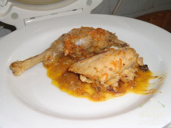 Курица в сливочно-имбирном соусе (в мультиварке)