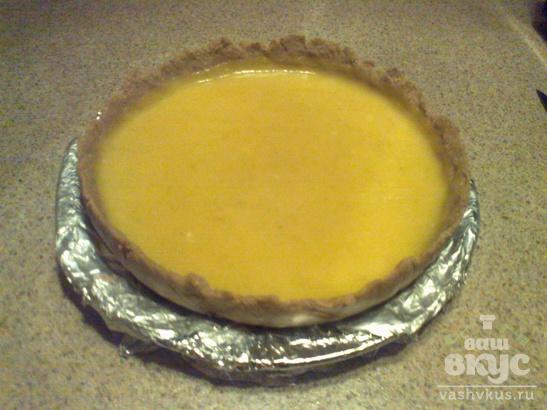 """Холодный пирог без выпечки """"Лаймовый"""""""