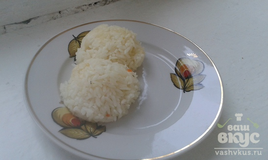 Рис отварной рассыпчатый в мультиварке