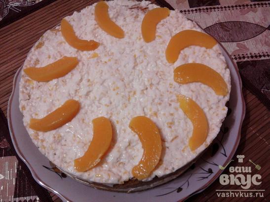 """""""Персиковый"""" тортик"""