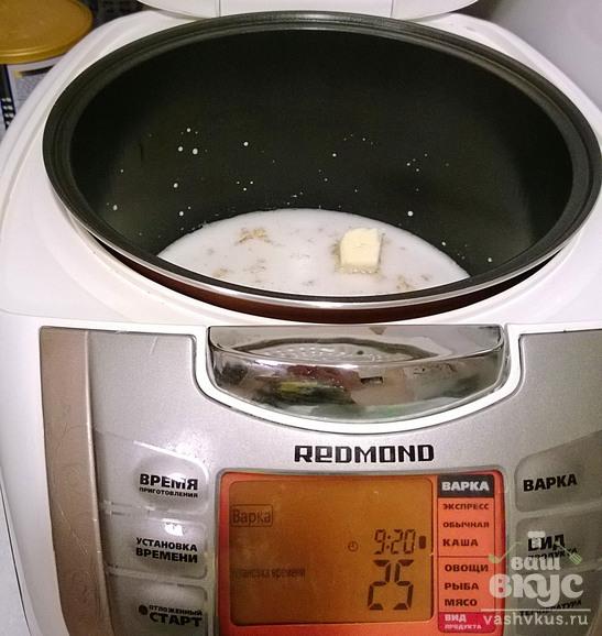 Ячневая каша в мультиварке редмонд рецепты с фото