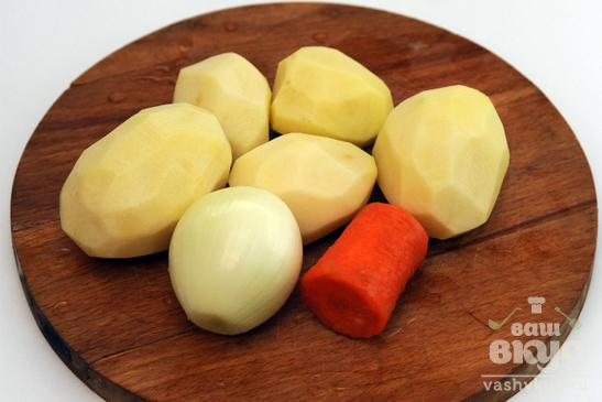 Куриные окорочка с картофелем микровейв