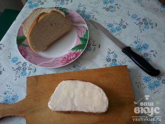 Яблочные бутерброды