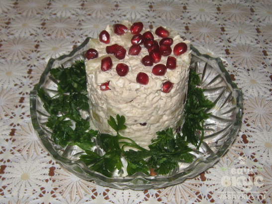 Салат «Капли граната»