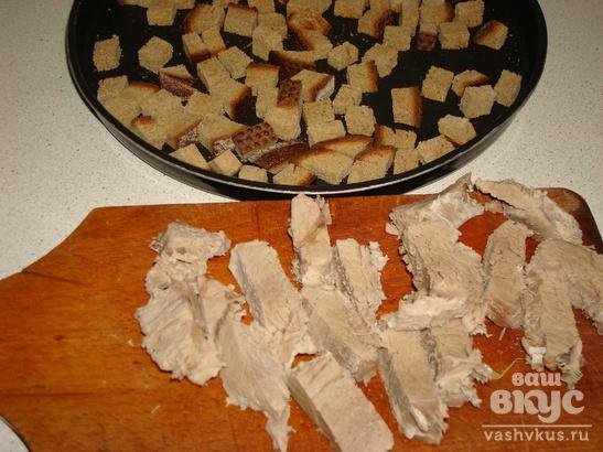 Суп-пюре с телятиной