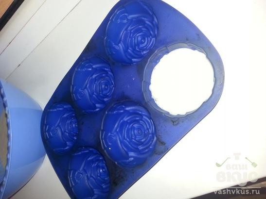 Кексы Розочки с добавлением киселя.