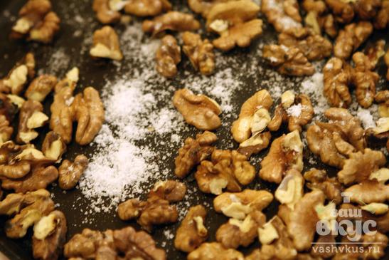 Острые грецкие орехи кандированные в меду