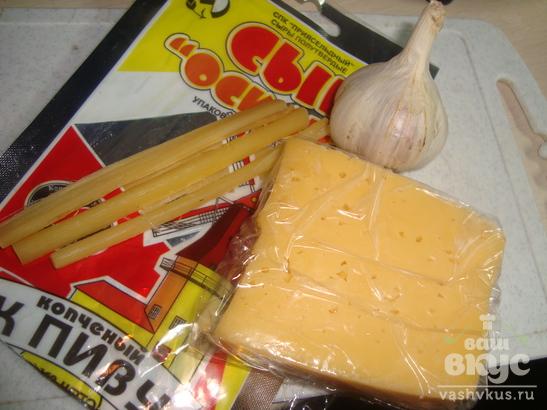 Рулетики из ветчины с сыром