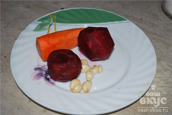 Капуста в красном маринаде (пелюстка)