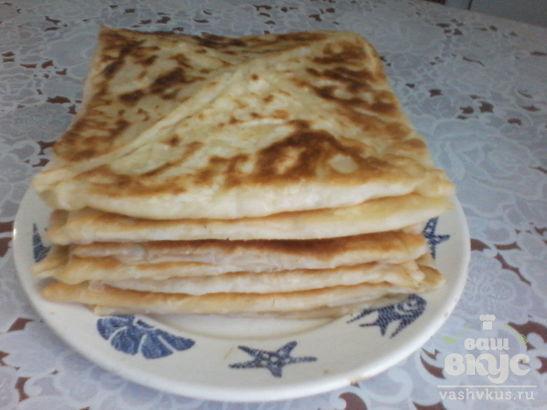 Катмер (турецкие слоенные лепешки)