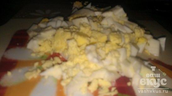 Легкий крабовый салат