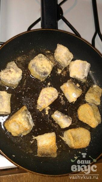 Жареная рыба в кукурузной муке