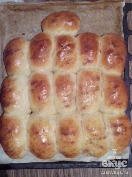 Пирожки с маком и изюмом