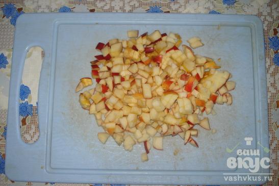 Слойка с яблоками