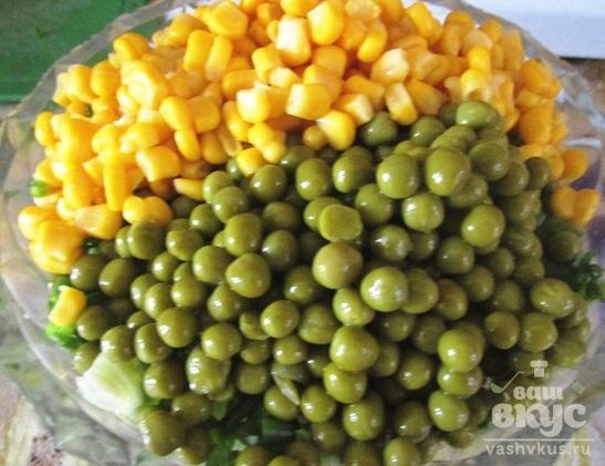 Грибной салат «Фантазия»