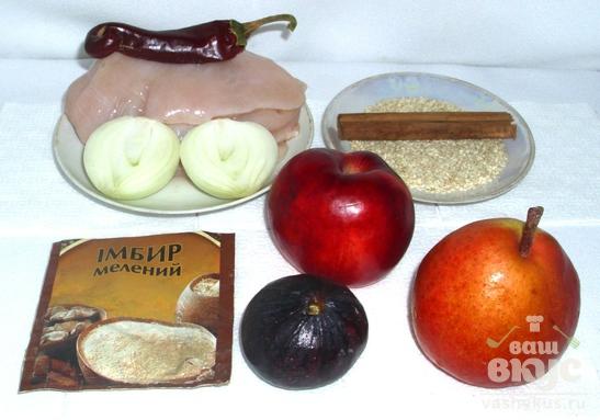 Таджин из курицы по-мароккански