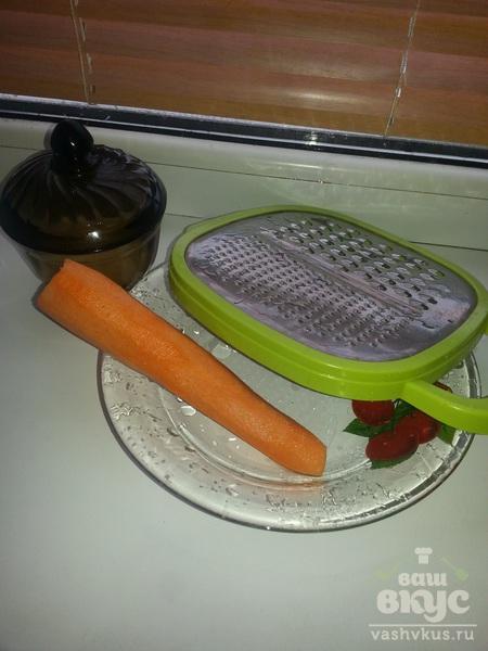 Морковка под сгущенкой